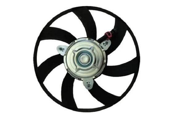 Eletro ventilador ventoinha radiador vw polo classic de 95 até 02 7 pás