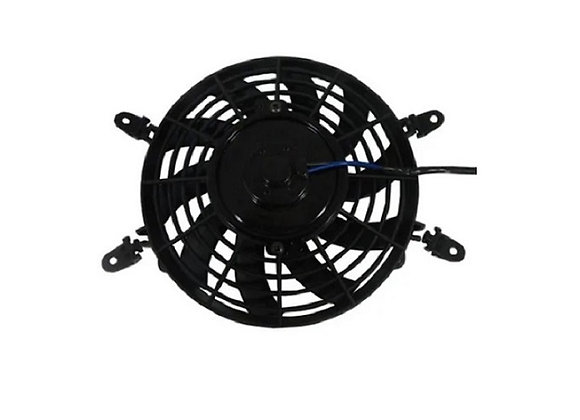 Eletro ventilador ventoinha 9 polegadas universal soprante 12 v