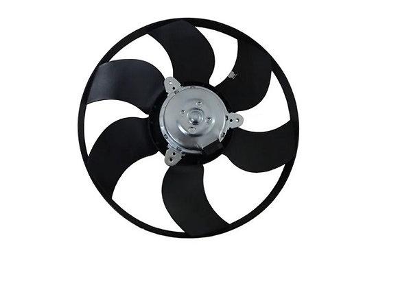Eletro ventilador ventoinha radiador logan sandero clio e symbol com ar