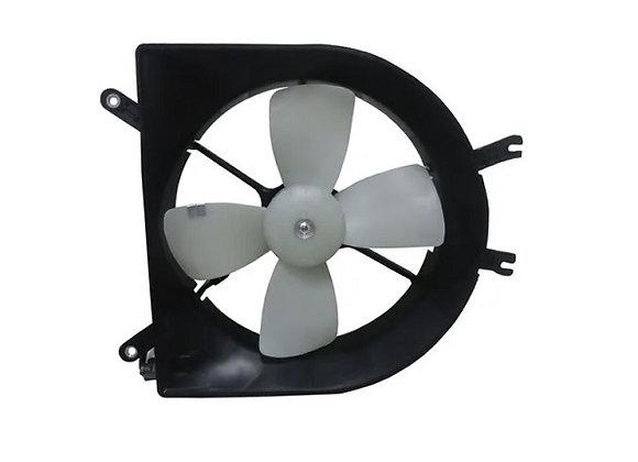 Eletro ventilador ventoinha com defletor radiador honda civic de 1992 até 2000