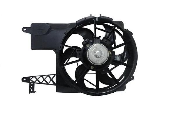 Eletro ventilador ventoinha com defletor vw gol parati saveiro g2 g3 g4 sem ar