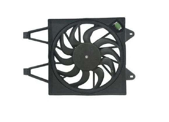Eletro ventilador ventoinha com defletor uno 10 em diante palio 12 mod denso