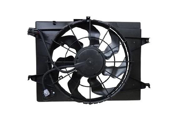Eletro ventilador ventoinha com defletor radiador tucson de 05 a 2010