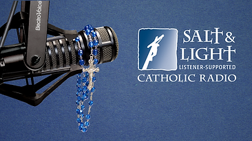 Salt & Light Radio offers family-friendly, faith-filled programming 24 hours a day, 7 days a week to help you along your faith journey. A complete schedule of programs and ways to listen can be found on our website at saltandlightradio.com.