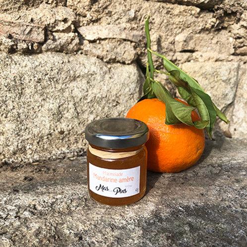 POT PORTION Marmelade de mandarines amères