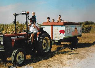 tracteur carthagène Mas des pins