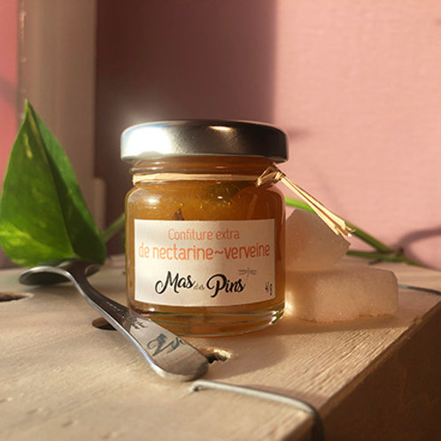 POT PORTION Confiture extra Nectarine-Verveine