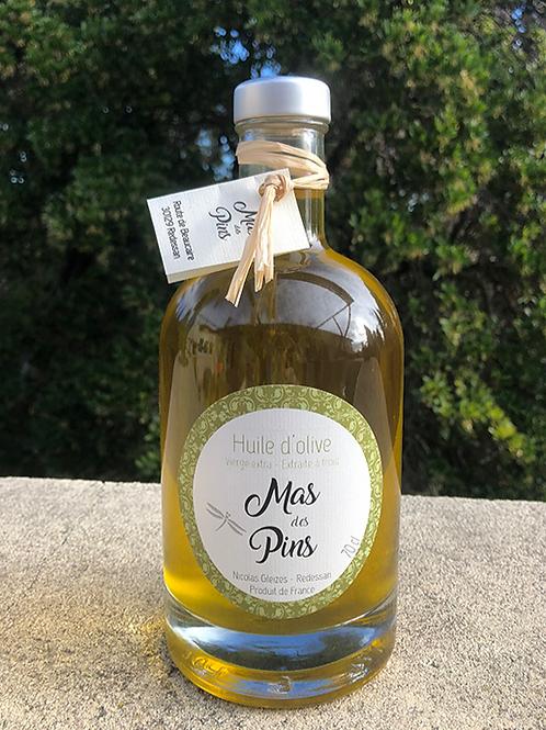 Bouteille huile d'olive de luxe