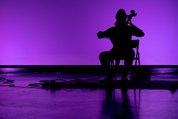 Sparrow Live Artist in Residence: Big Violin Player
