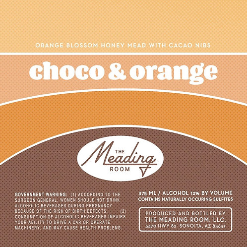 Choco & Orange ∙ 12% ABV ∙ 375 ml