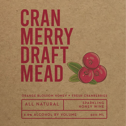 Cranmerry ∙ 6.8% ABV ∙ 500ml