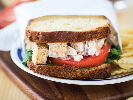 Chickenless Salad Sandwich