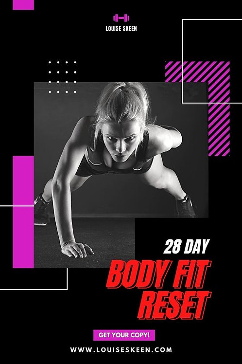 28 Day Body Fit Reset | Program 3: Experienced
