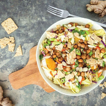 Chinese Chickpea Salad