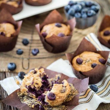 Blueberry-Banana Muffins