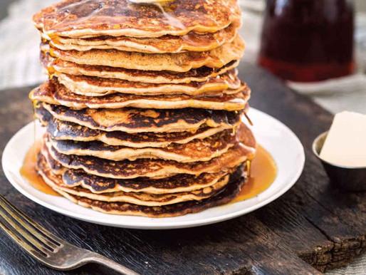 Maple–Peanut Butter Pancakes