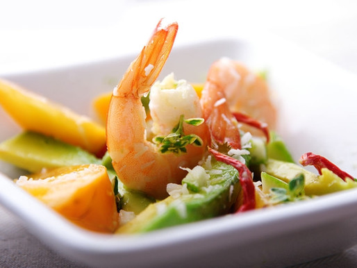 MANGO AND PRAWN SALAD