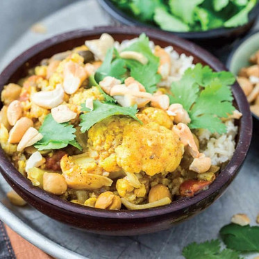 Quick Cauliflower Curry