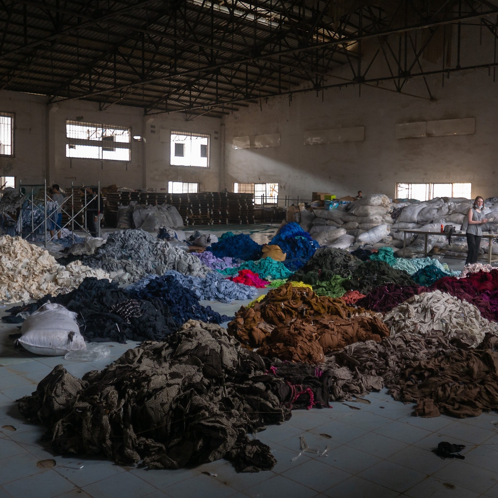 deadstock fabric - sustainability