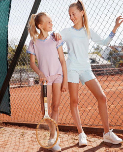 kids tennis wear collection
