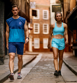 men's and women's activewear made from recycled ocean waste