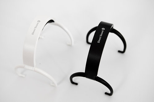White Universal Headband Assembly