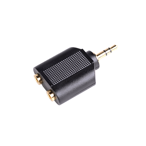 Dual 1/8″ F to 1/8″ M Stereo Splitter