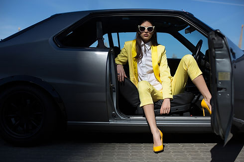 stylish-lady-sitting-in-the-car-with-doo