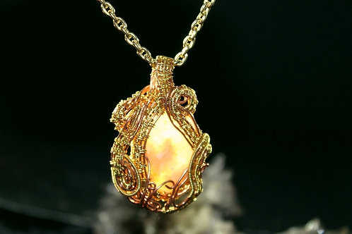 Unknown Moss Agate Pendant