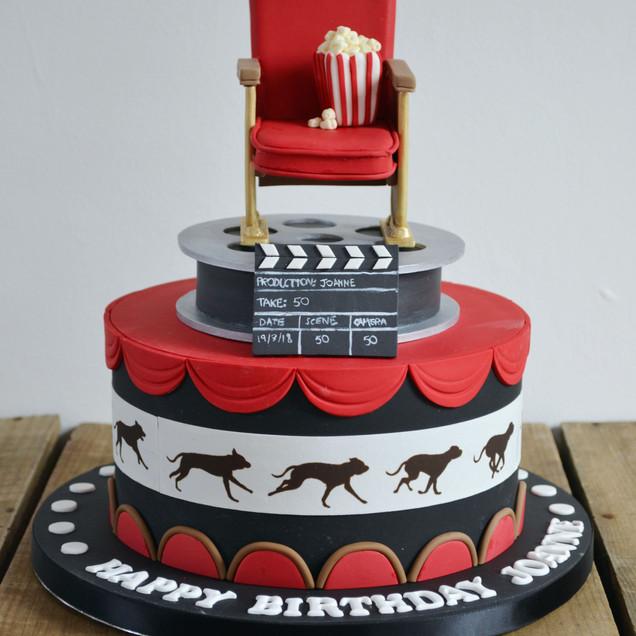 film fanatic cake