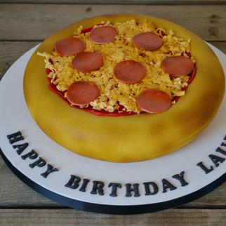 pepproni pizza cake