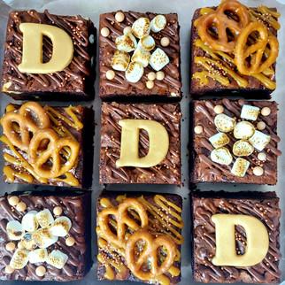 personalised brownie box