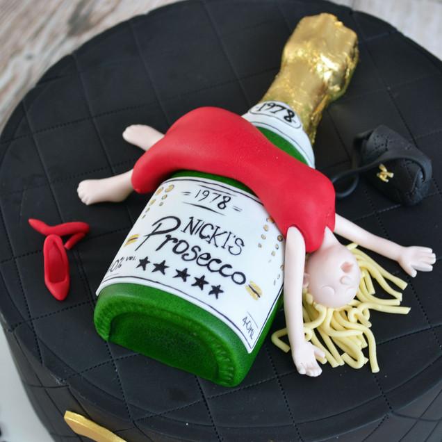 drunk prosecco cake