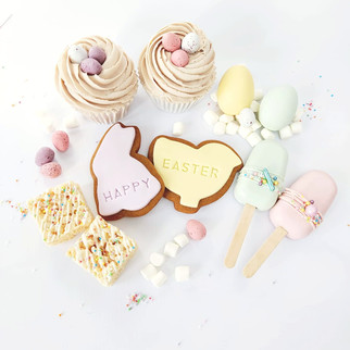 Easter treat selection