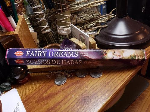 40 Grams Fairy Dreams Incense Sticks