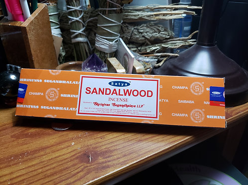 40 Grams Sandalwood Incense Sticks