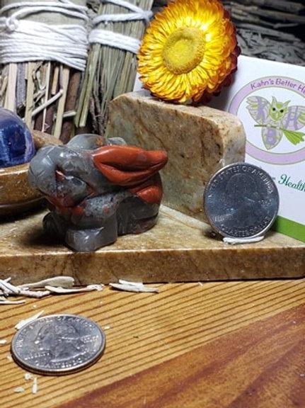 African Bloodstone Rabbit