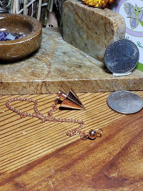 Copper Plated Brass Pendulum 5A