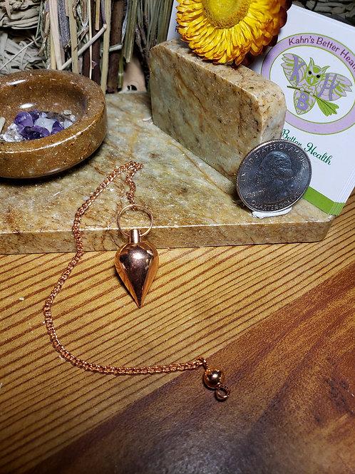 Copper Plated Brass Pendulum 4A