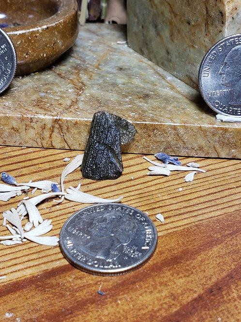 Moldavite, 1.54 grams