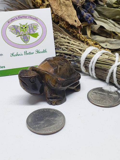 Tiger Eye Turtle, $14