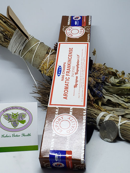 Aromatic Frankincense Incense Sticks, $4.50