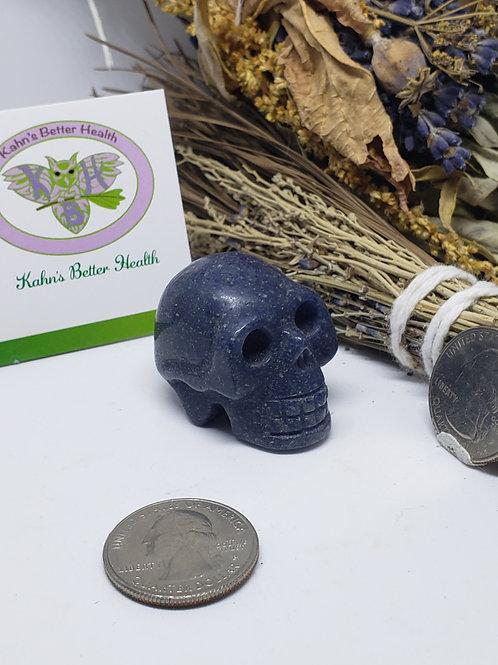 Lazulite Skull, $12