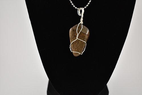 Bronzite Charm