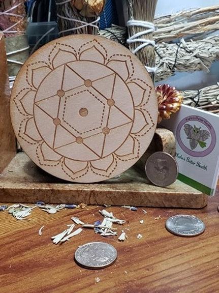 "Heart Chakra 4"" Grid Board"