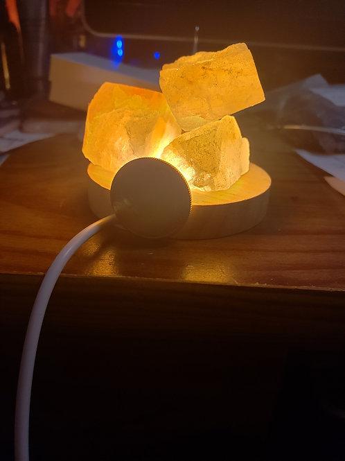 USB light with Himalayan salt, $15 each