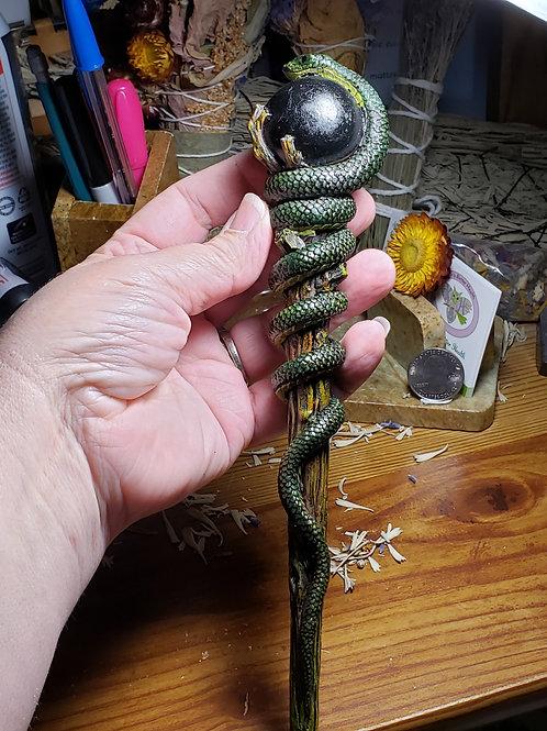 Resin Snake Wand