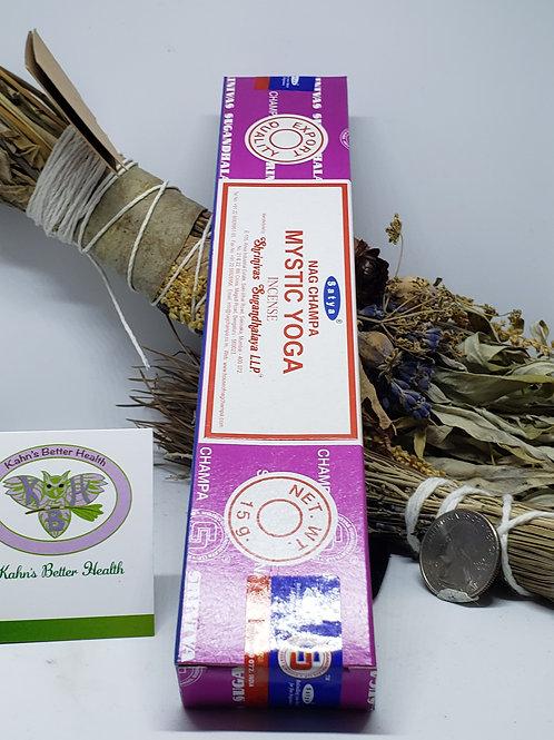 Mystic Yoga Incense Sticks, $4.50
