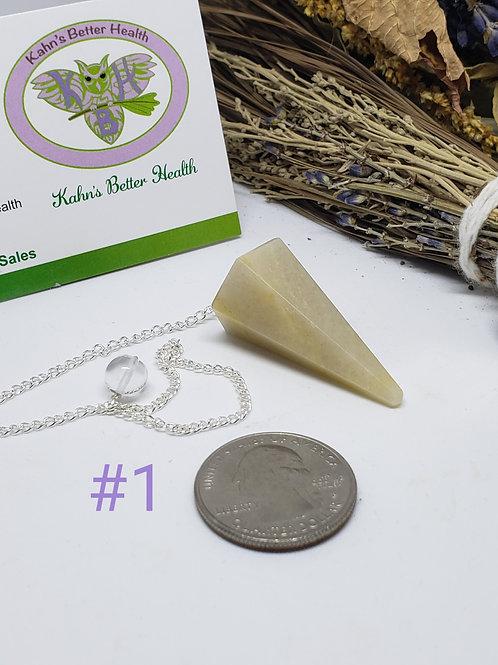 Yellow Aventurine Pendulum(s), $9 each