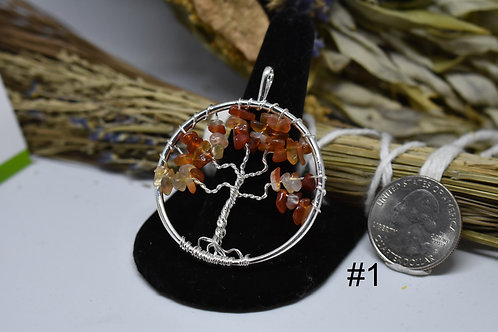Various Tree of Life Pendants
